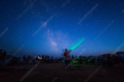 Sky Lecture at Star Party
