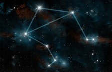Constellation of Libra the Scales