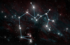 Constellation of Sagittarius the Archer