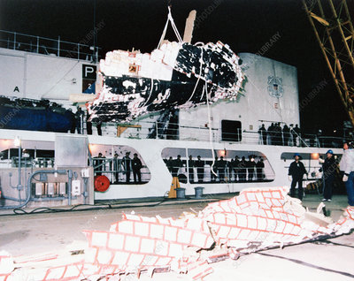 Space Shuttle Challenger Wreckage, 1986