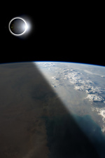 Eclipse from Above