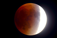 Total Lunar Eclipse, 9 27 2015