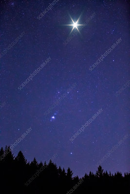 Orion with Supernova