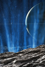 Surface of Enceladus 2