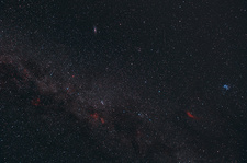 Milky Way, Cassiopeia and Perseus