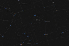 Libra, Constellation, Labeled