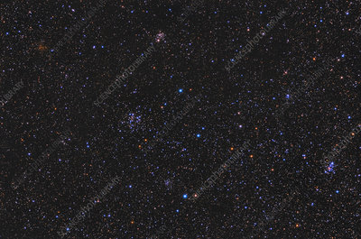 Open Clusters in the M103 Area
