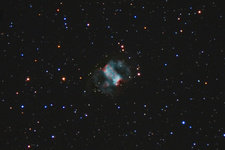 M76, Planetary Nebula in Perseus