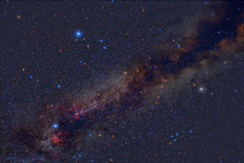 The Summer Triangle: Vega, Deneb, Altair