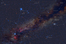 The Summer Triangle, Labeled