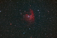NGC-281 The Pacman Nebula in Cassiopeia