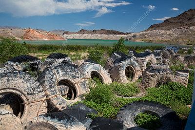 Lake Mead drought, Nevada, USA