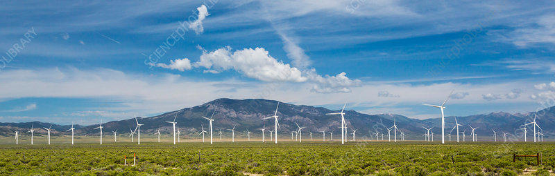 Spring Valley Wind Farm, Nevada, USA