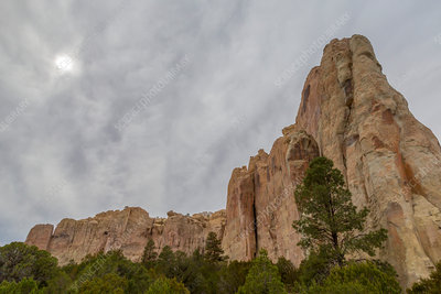 El Morro National Monument, New Mexico, USA