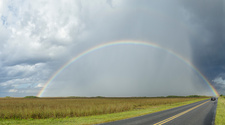 Rainbow in Everglades National Park