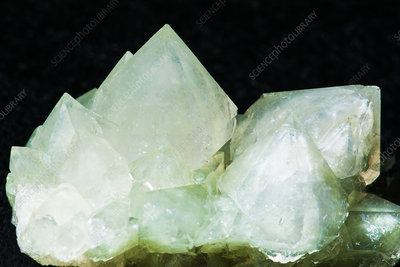 Quartz With Chlorite Inclusions