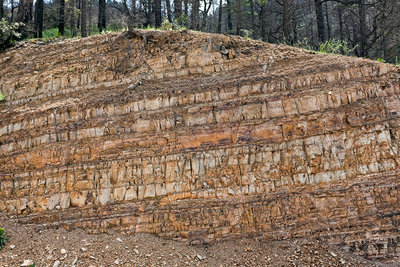 Exposed Rock Strata