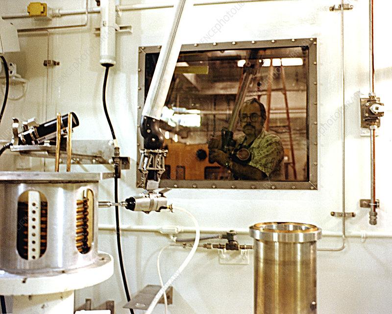 Remote Manipulator for Handling Plutonium, 2014