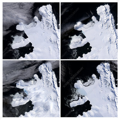 Ice Shelf Disintegrating, Spring 2008