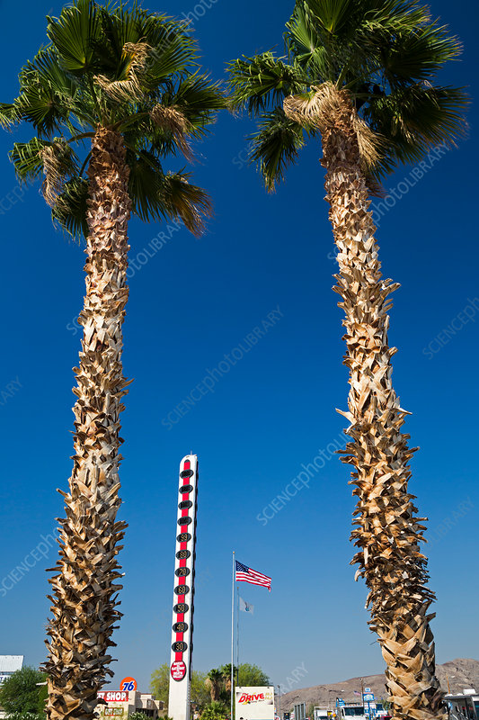 World's Tallest Thermometer, California, USA