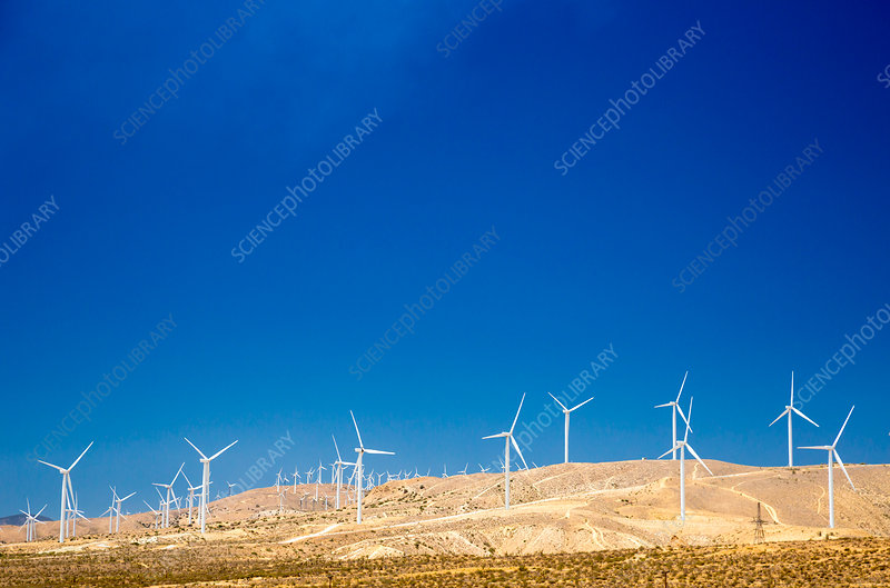 Tehachapi Wind Resource Area, California, USA