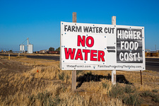 Farming water shortage protest, USA