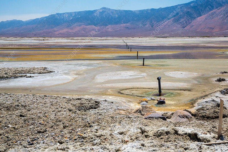 Owens Lake rejuvenation, USA