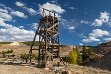 Abandoned mine, Leadville, Colorado, USA