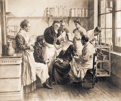 Cheron's neurasthenia treatment, 1890s