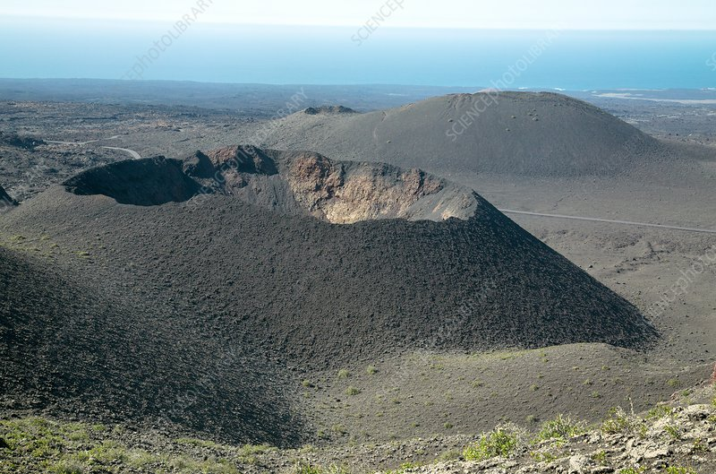 Volcanic landscape, Lanzarote, Canary Islands