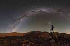 Milky Way stargazing in the Atacama Desert
