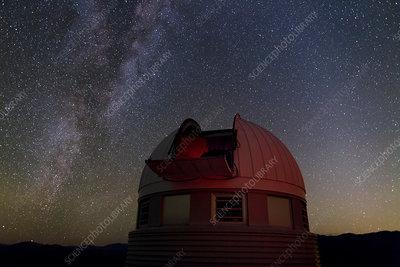 Milky Way over Leonhard Euler Telescope