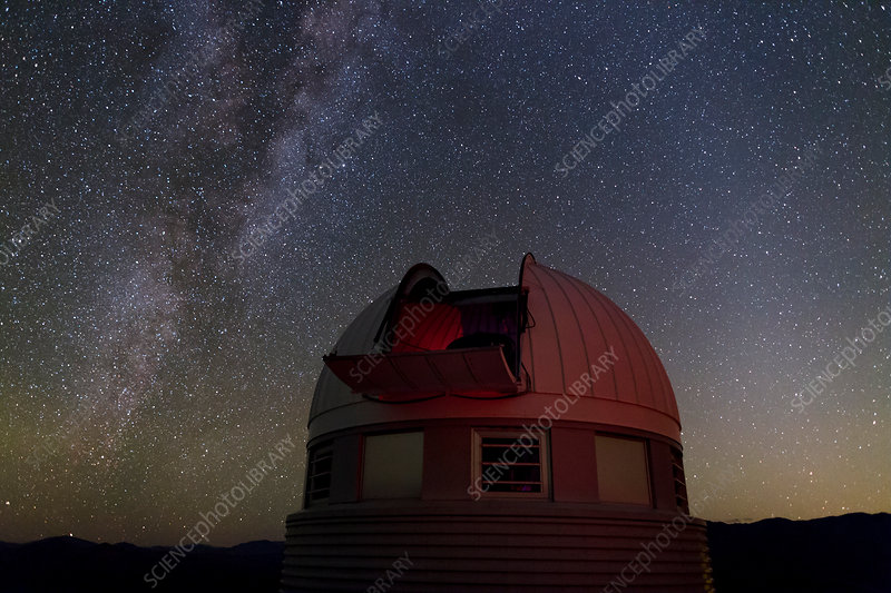 Milky Way over Leonhard Euler Telescope