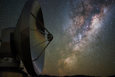 Milky Way with SEST radio telescope