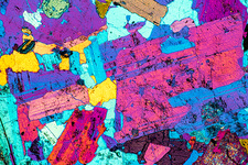 Quartz Diorite, LM of thin section