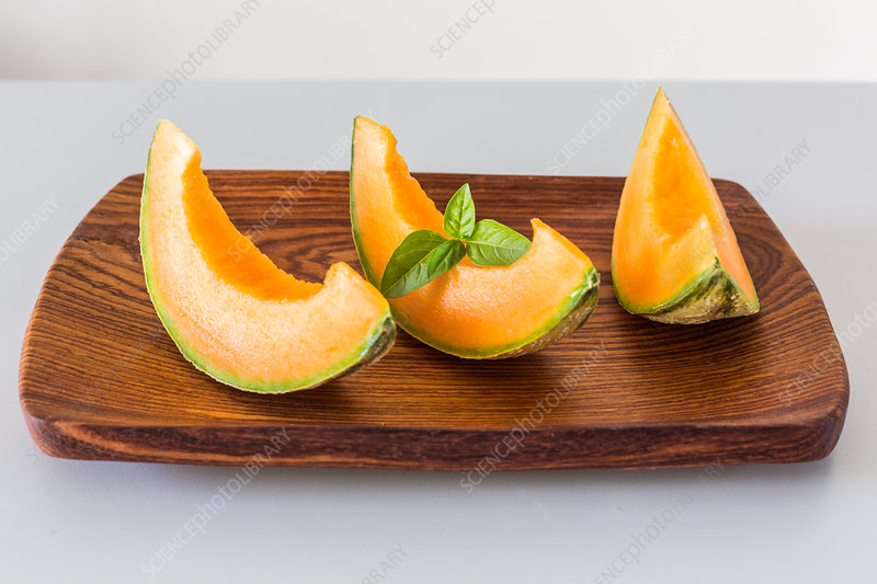Melon slices