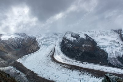 Gorner glacier, Switzerland