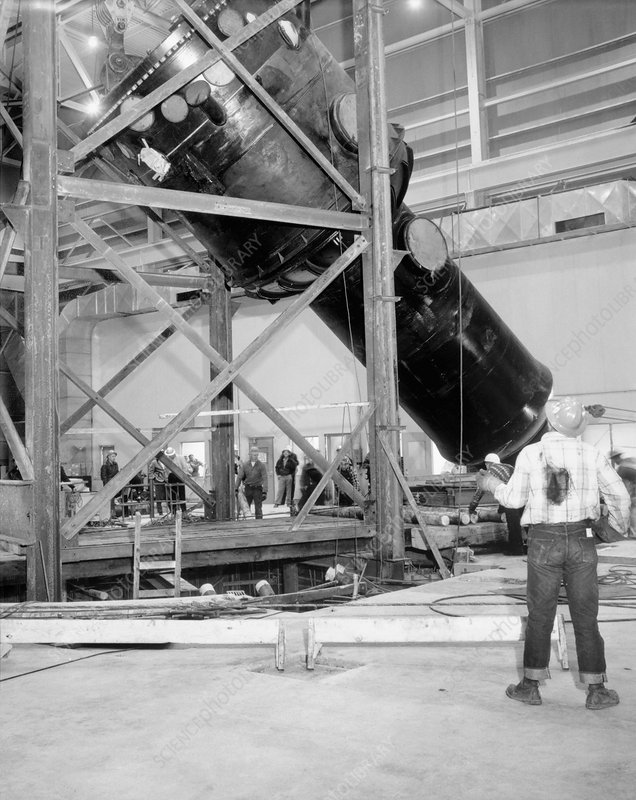 Engineering Test Reactor installation, 1956