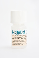 MolluDab treatment for molluscum contagiosum