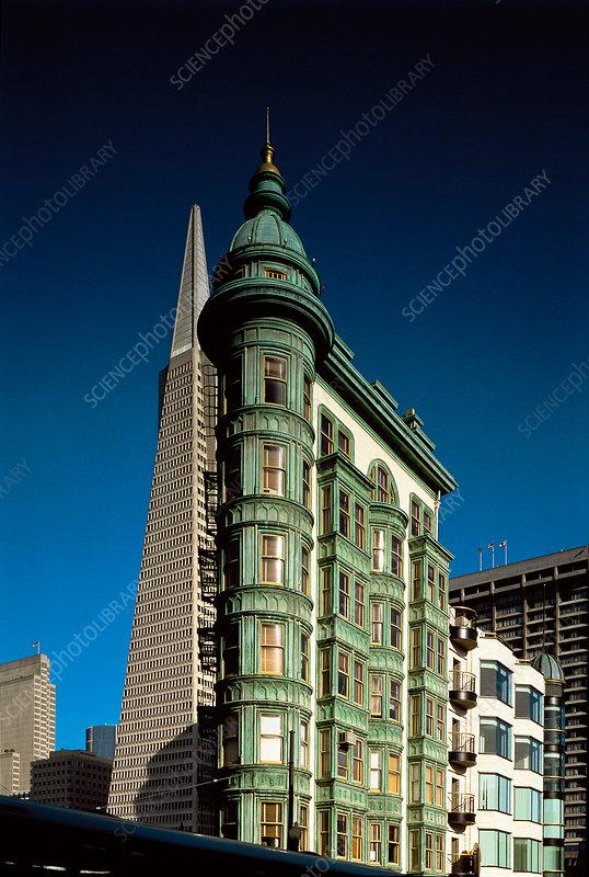Sentinel Building, San Francisco, USA