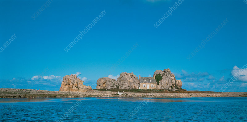 Castle Meur, Brittany, France