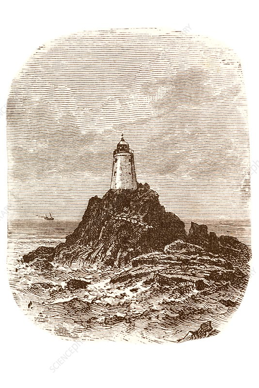 Lizard lighthouse, Cornwall.