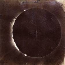 Photograph of the 18 July 1860 total solar eclipse