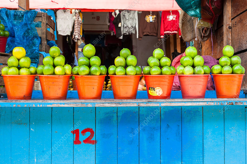 Limes at the market