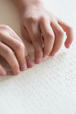 Braille reading
