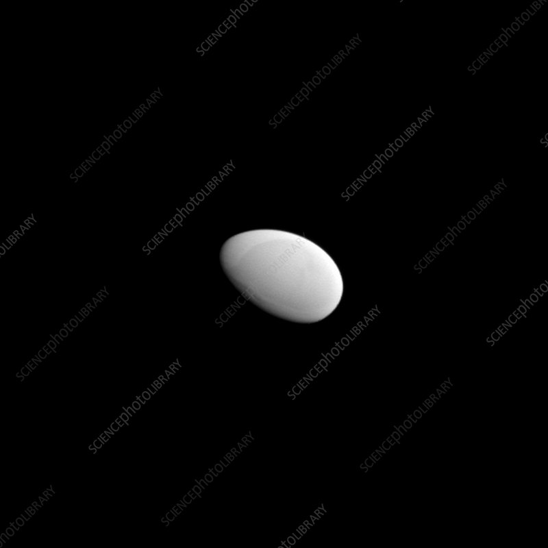Saturn's moon Methone, Cassini image