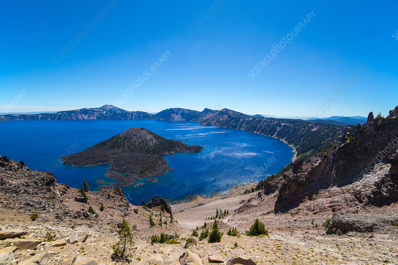 Crater Lake in Late Summer, USA