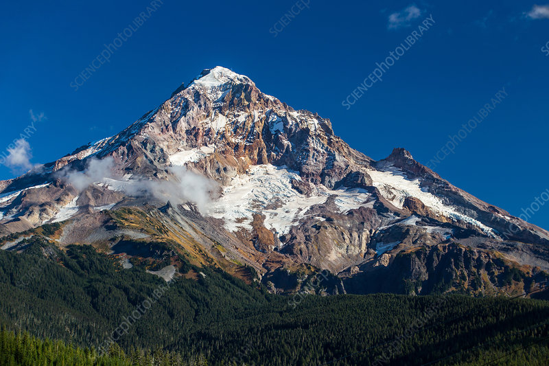 West Face of Mt. Hood, Oregon, USA
