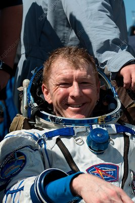Tim Peake after Soyuz landing, June 2016