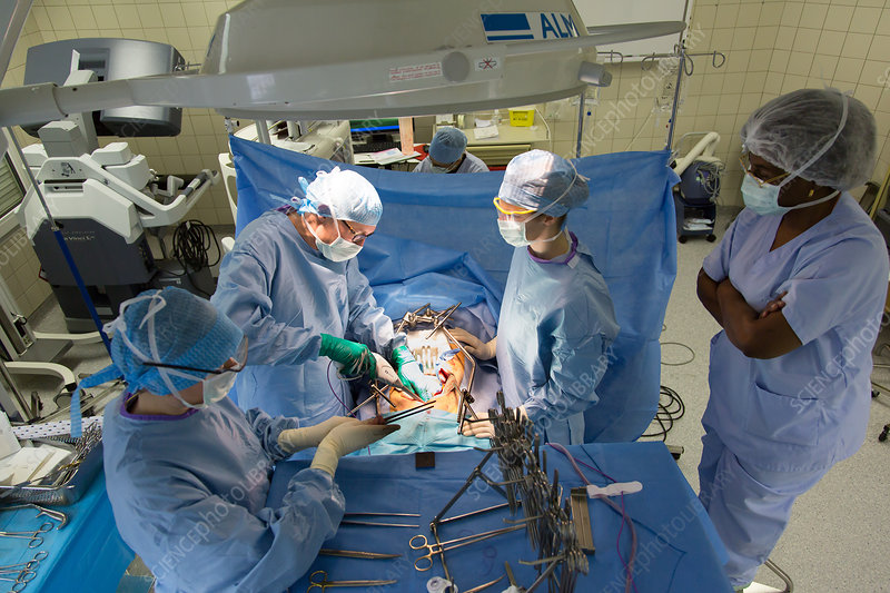 Cystectomy surgery